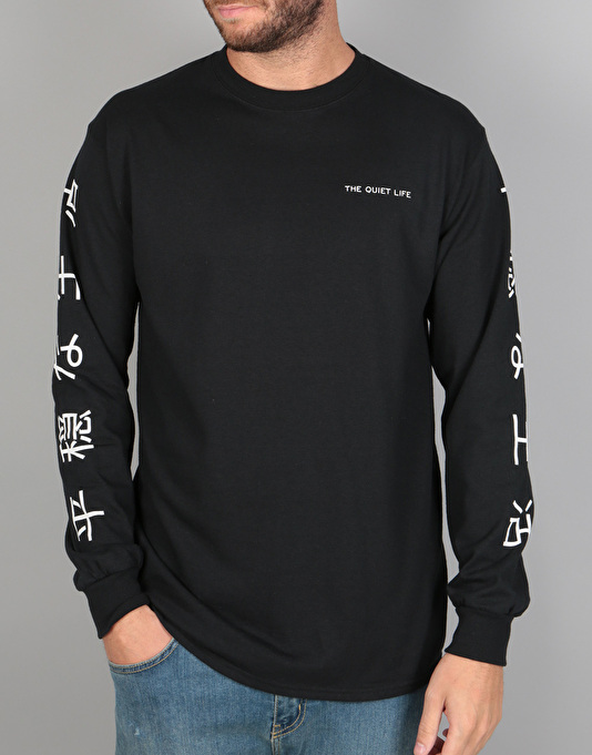 The Quiet Life Japan L/S T-Shirt - Black