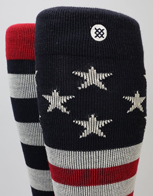 Stance Clawhammer 2017 Snowboard Socks - Navy