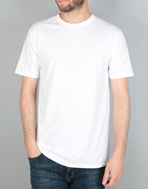 The National Skateboard Co. Classic T-Shirt - White