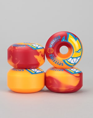 Spitfire Bighead Split Swirls 99d Team Wheel - 53mm