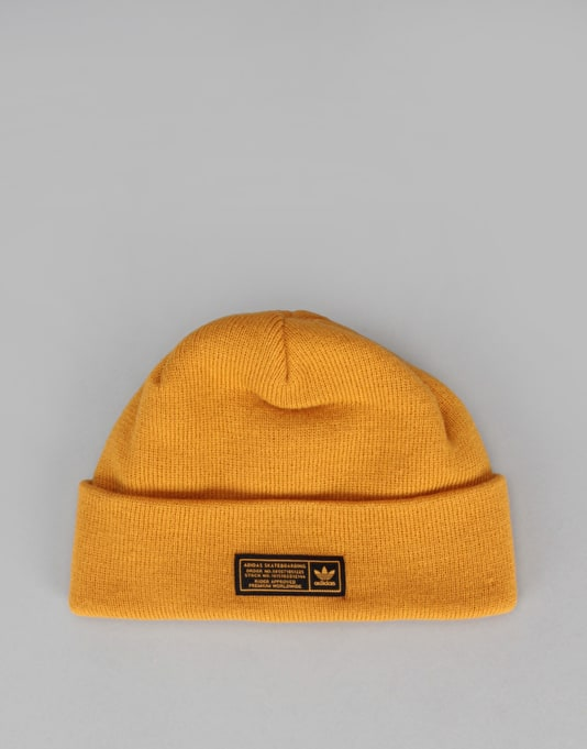 Adidas Skateboarding The Joe Beanie - Tactile Yellow F17  d197af25e4d