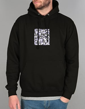 Route One Camo Box Logo Pullover Hoodie - Black