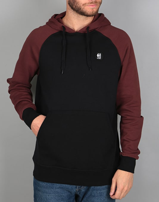 Etnies E-Base Pullover Hoodie - Black/Red