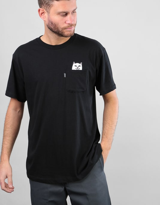 RIPNDIP Lord Nermal Pocket T-Shirt - Black