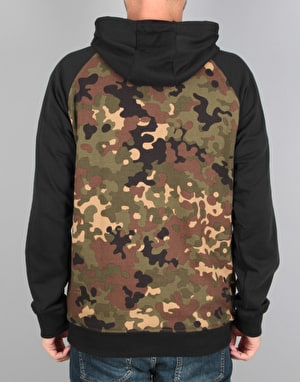 Adidas Climacool 2.0 CMO Pullover Hoodie - Camo Print/Black