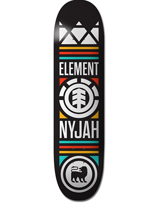 Element Nyjah Crowned Featherlight Skateboard Deck - 7.75""