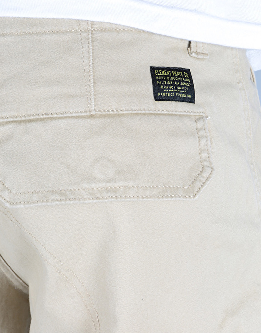 Element Legion Cargo Shorts - Desert Khaki