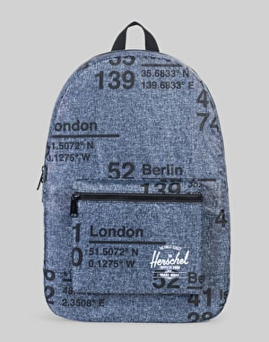Herschel Supply Co. Packable Backpack - Raven Crosshatch Site