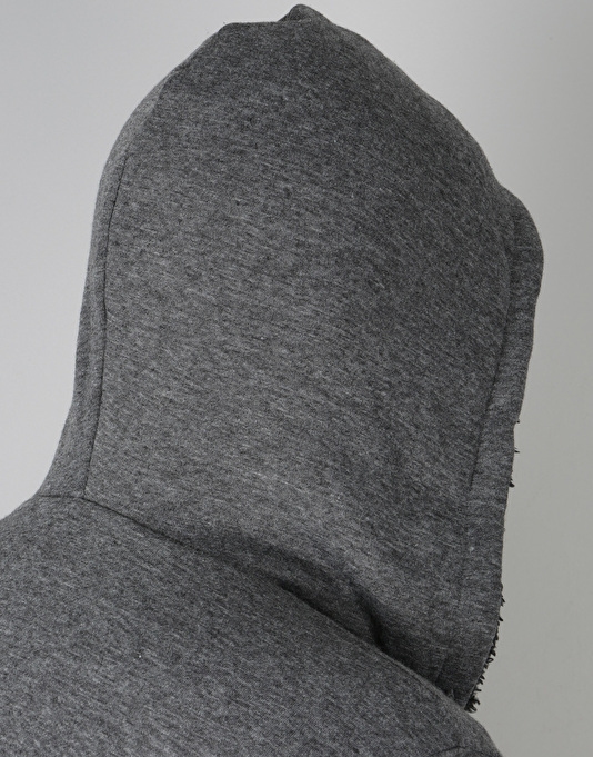 Element Bolton Sherpa Zip Hoodie - Charcoal Heather