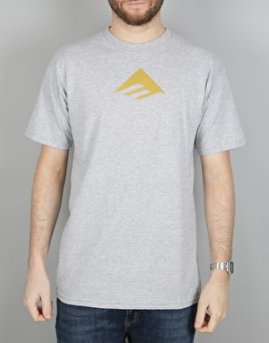 Emerica Triangle 7.1 T-Shirt - Grey/Black