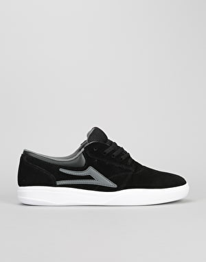 Lakai Griffin XLK Skate Shoes - Black/Grey Suede