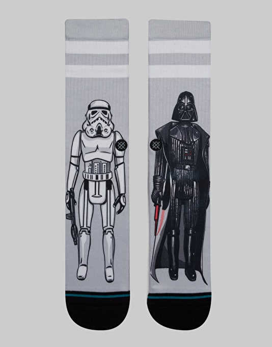 Stance x Star Wars Master Of Evil Socks - Grey