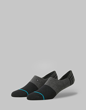 Stance Gamut Super Invisible Socks 3 Pack - Black