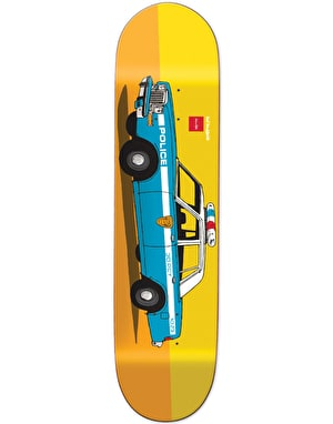 HUF x Chocolate NY Cop Car Series Deck - 8.25