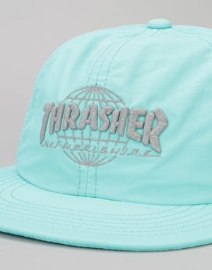 HUF x Thrasher TDS 6 Panel Cap - Mint