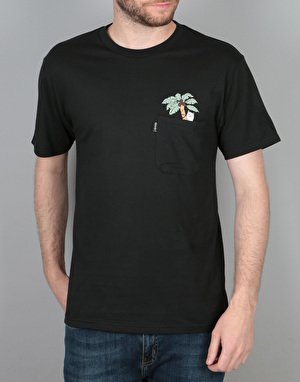 RIPNDIP Nermal Leaf Pocket T-Shirt - Black