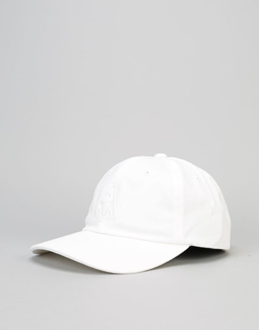 HUF Triple Triangle UV Curve Brim Cap – White