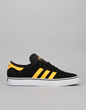 Adidas Adi-Ease Premiere Skate Shoes - Black/Solar Gold/White