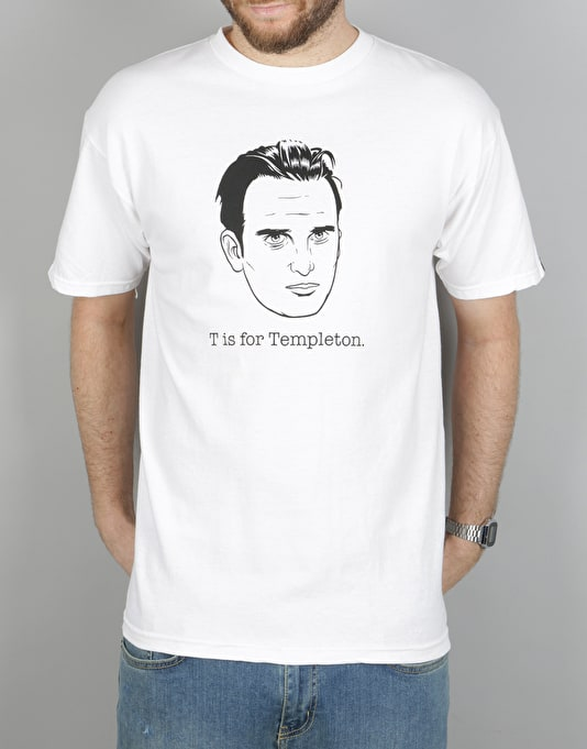 Emerica T Is For Templeton T-Shirt - White