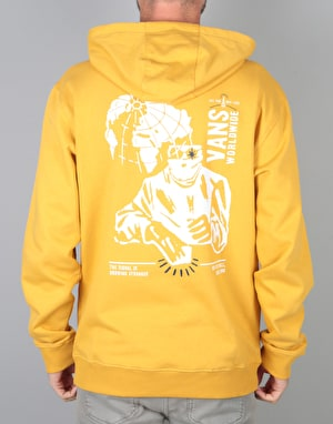 Vans Wifi Death Pullover Hoodie - Mineral Yellow