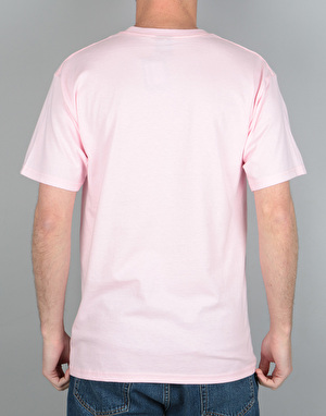 Obey Defiant Rose T-Shirt - Pink