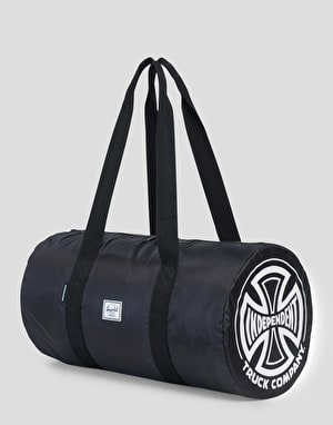 Herschel Supply Co. x Independent Trucks Packable Duffle Bag - Black