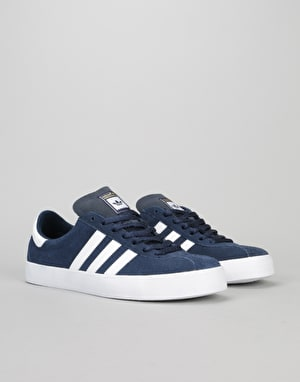 Adidas Skate ADV Skate Shoes - Collegiate Navy/White/White