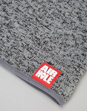 Airhole Airtube Ergo Sweater Knit Facemask - Heather Grey