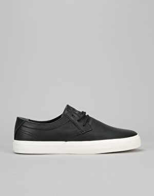 Lakai Daly (MJ) Skate Shoes - Black Leather