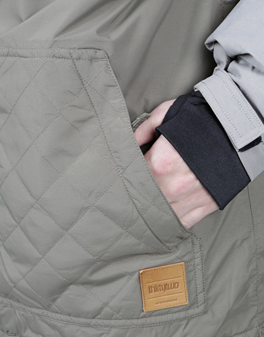 Thirty Two Holcomb 2017 Snowboard Jacket - Grey