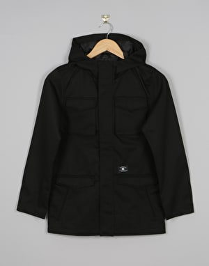 DC Mastadon 3 Boys Jacket - Black