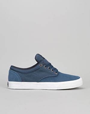 Supra Chino Skate Shoes - Blue/White