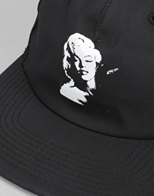 Diamond Supply Co. x Marilyn Monroe Blow Up Trucker Cap - Black