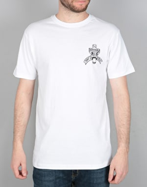 Santa Cruz Dressen Cross T-Shirt - White