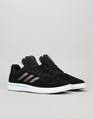 Adidas Dorado ADV Skate Shoes - Black/Black/Shadow Grey