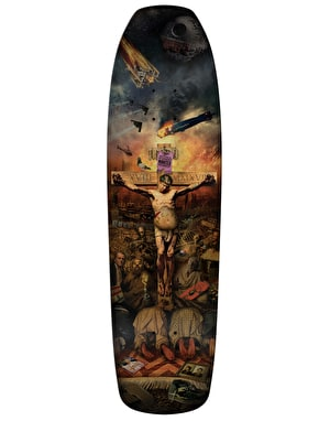 Anti Hero Grosso Crucifried Pro Deck - 9.25