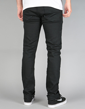 Emerica Pure Slim 5 Pocket Denim Jeans - Black