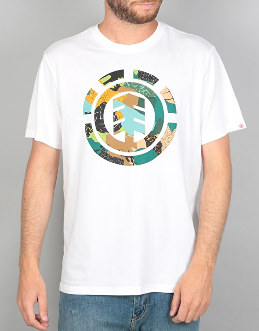 Element Cut Out Icon T-Shirt - Optic White