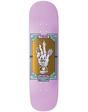 Welcome Sanchez Philosopher's Hand on Nibiru Skateboard Deck - 8.75