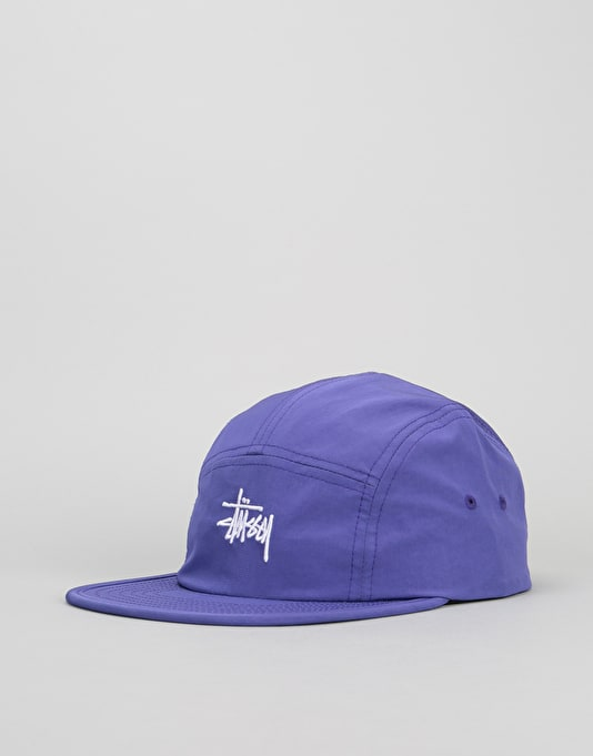 Stüssy Micro Ripstop 5 Panel Cap - Purple  1731103560a