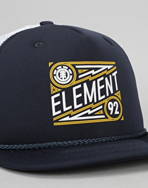 Element Emblem Trucker Cap - Eclipse Navy