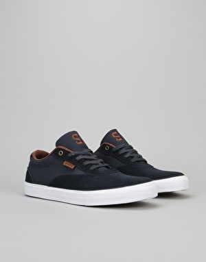State Madison Skate Shoes - Navy/Brown Suede/Canvas