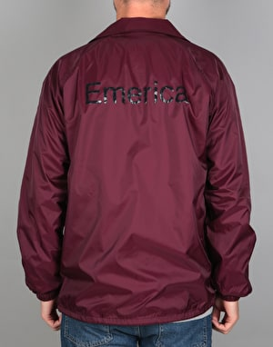 Emerica Triangle Jacket - Maroon