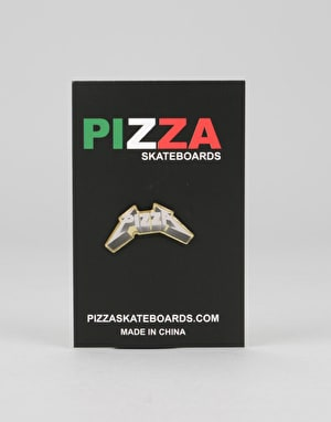 Pizza Metal Pin - Multi