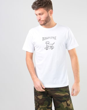 Route One Doggy Style T-Shirt - White