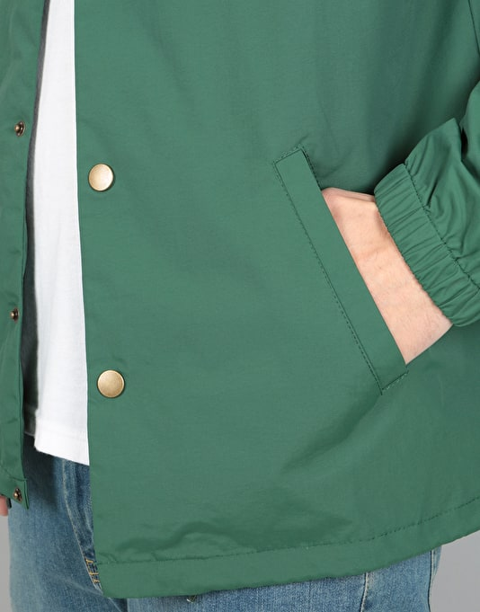 Spitfire x Anti Hero Classic Eagle Coaches Jacket - Forest Green
