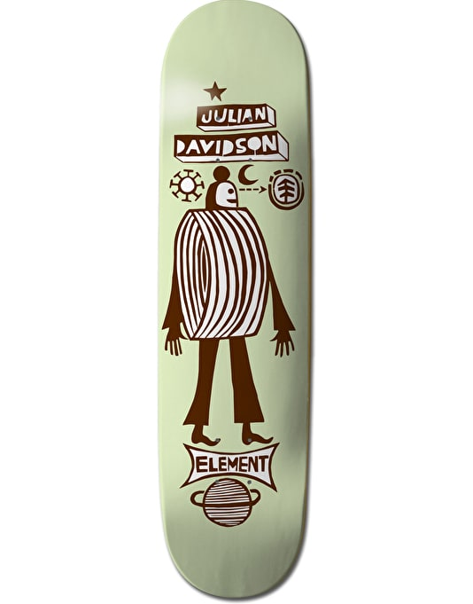 Element x F. Elvira Julian Los Amigos Featherlight Pro Deck - 8.375""