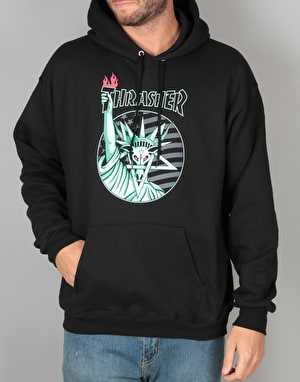 Thrasher Liberty Goat Pullover Hoodie - Black