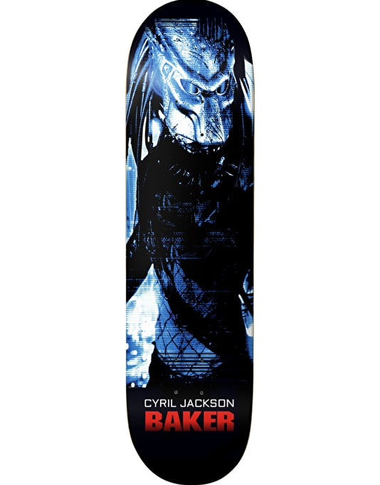 Baker Cyril Invisible Killa Skateboard Deck - 8""