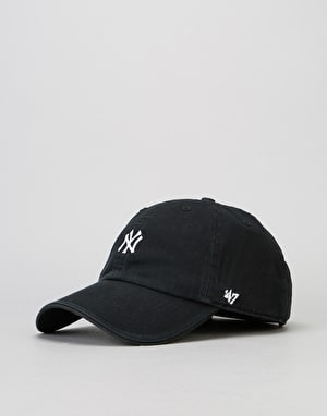 '47 Brand MLB New York Yankees Centrefield Clean Up Cap - Black